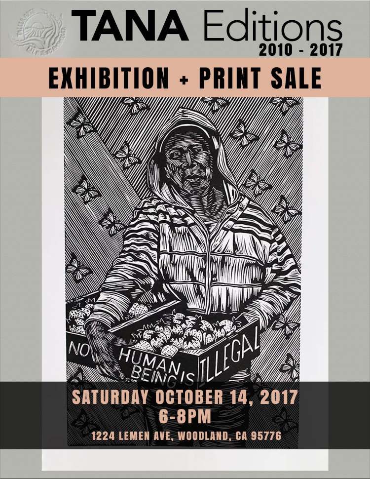 Exhibition and Print Sale flyer WEB