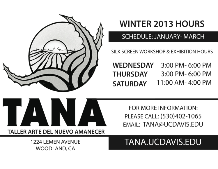 TANAWINTER2013Schedule copy