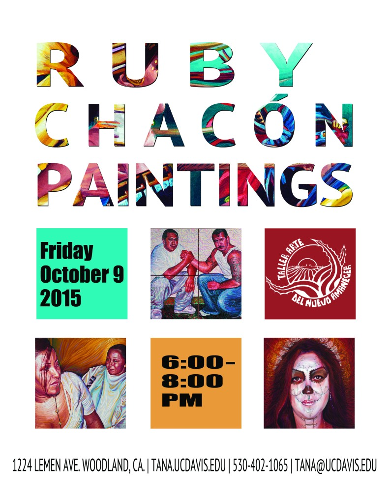 Ruby Chacon Paintings Flier